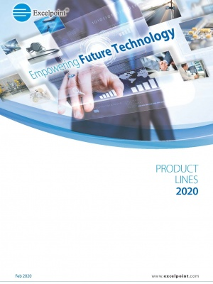 2020 Product line card